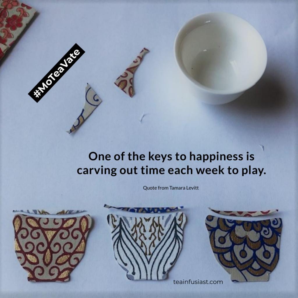 MoTeaVational quote by Tamara Levitt
