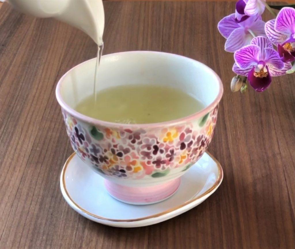 Cup of Woojeon tea