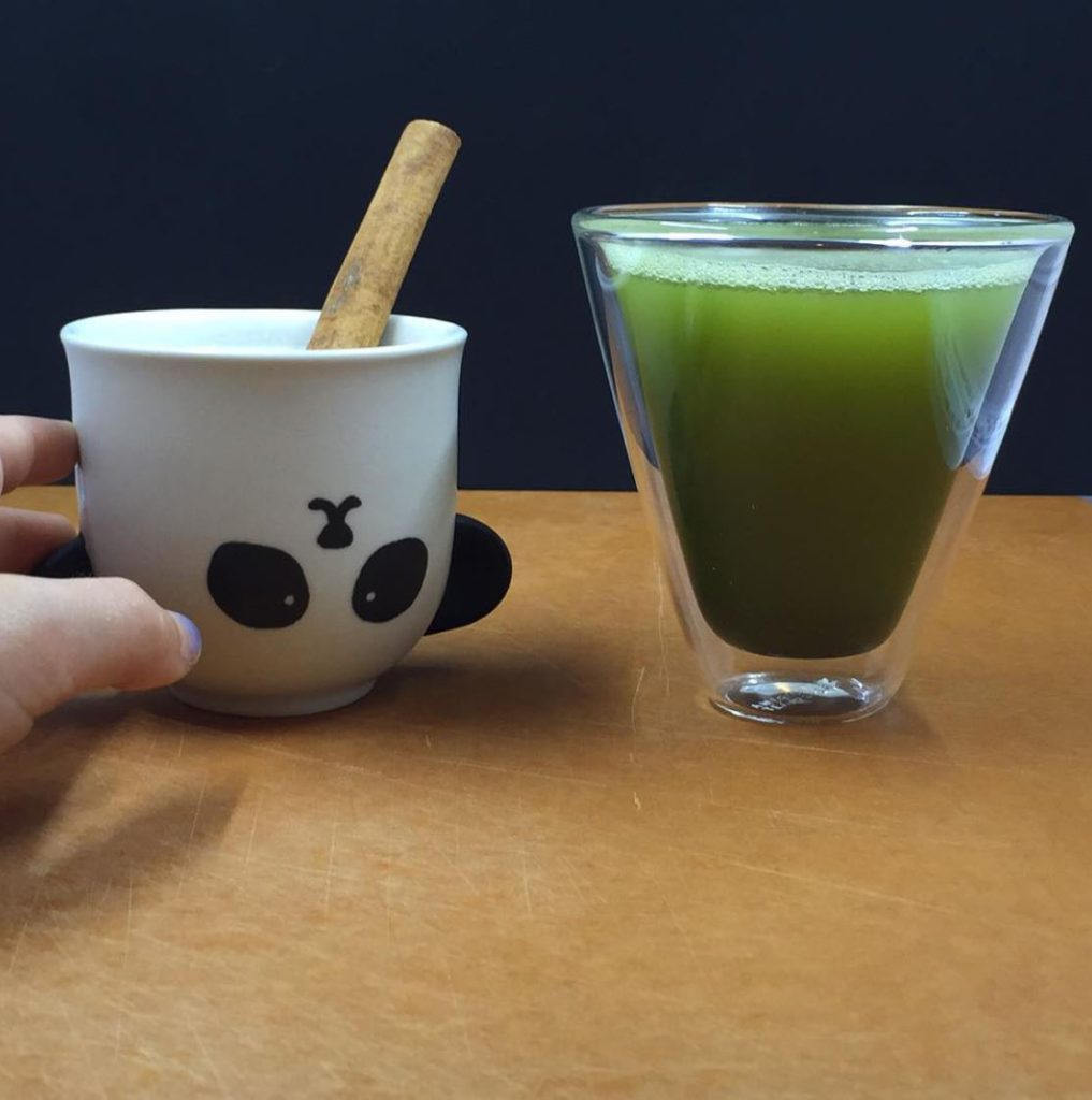 Showing the panda cup mentioned in the post